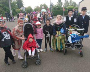 Enfants carnaval 2019